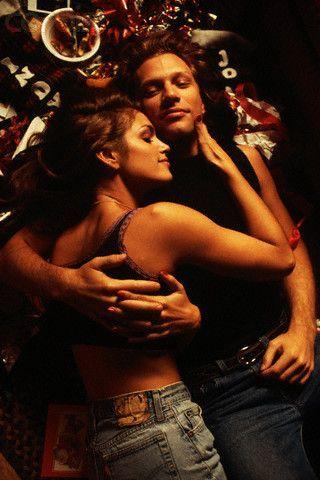 Jon Bon Jovi and Cindy Crawford