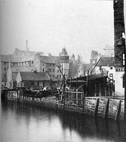 Leith - St Ninian's Wharf, Late 1850s
