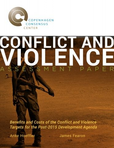 Anke Hoeffler, Research Officer at Oxford, and James Fearon, Professor of Political Science at Stanford University, break new ground in estimating the global costs of violence and conflict in an Assessment Paper for the Post-2015 Consensus. The paper shows that the costs of collective, interpersonal violence, harsh child discipline, intimate partner violence and sexual abuse represent 11% of worldwide GDP.