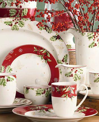 353 best christmas dinnerware images on pinterest - Johnson brothers vajilla ...