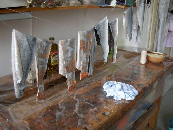 Workshop in den Bosch! Visleer maken, leren tas, bot bewerken