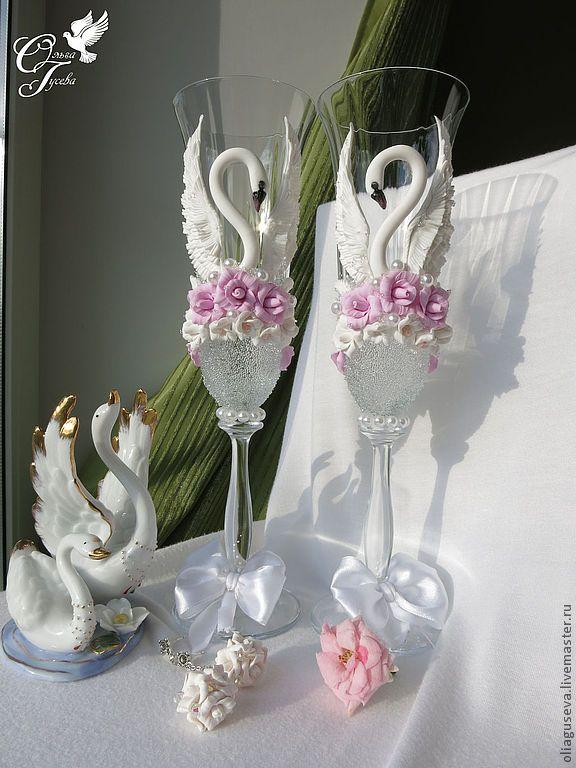 64 best swans images on pinterest wedding glasses champagne kieliszki dla pary modej httpsnajpiekniejszyslubwordpress champaign glassesdecorated wine glasseswedding junglespirit Images