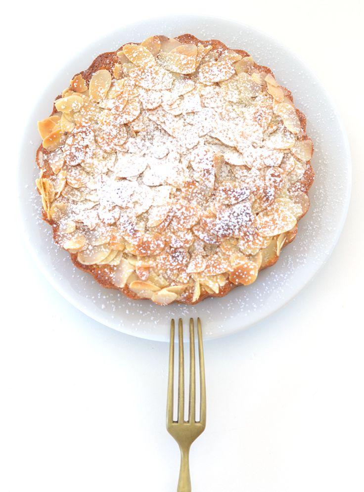 Lemon ricotta & almond cake
