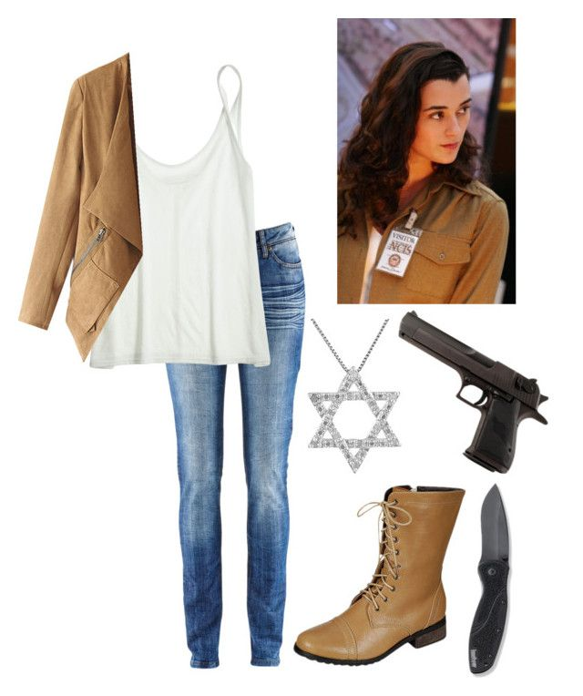 """Ziva David (NCIS)"" by fangirl-fever ❤ liked on Polyvore"