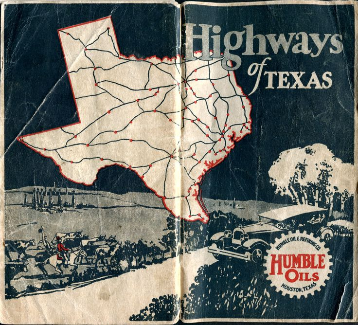 Old Highway Maps of Texas The 101
