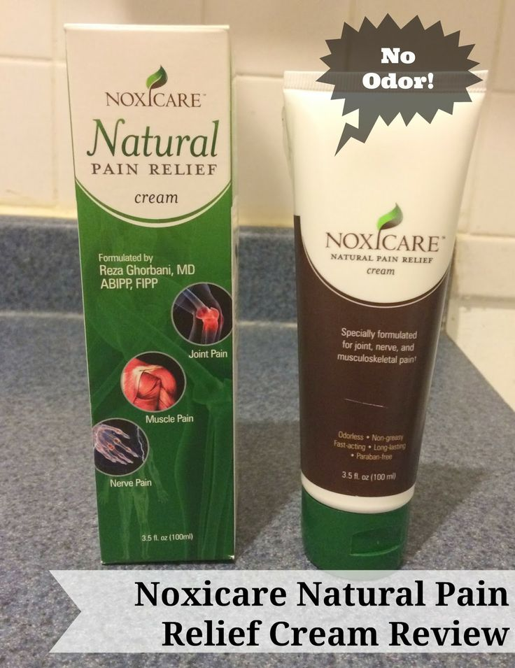 First Time Mom and Losing It: Noxicare Natural Pain Relief Cream #Review