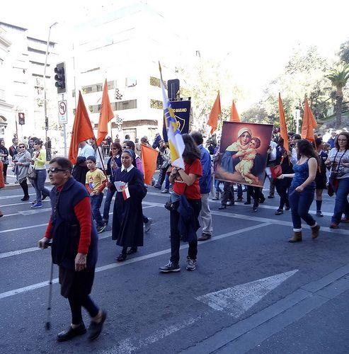 """Procesión del Carmen 29 de septiembre 2013   """"Comparte el gozo de la Fe"""""""