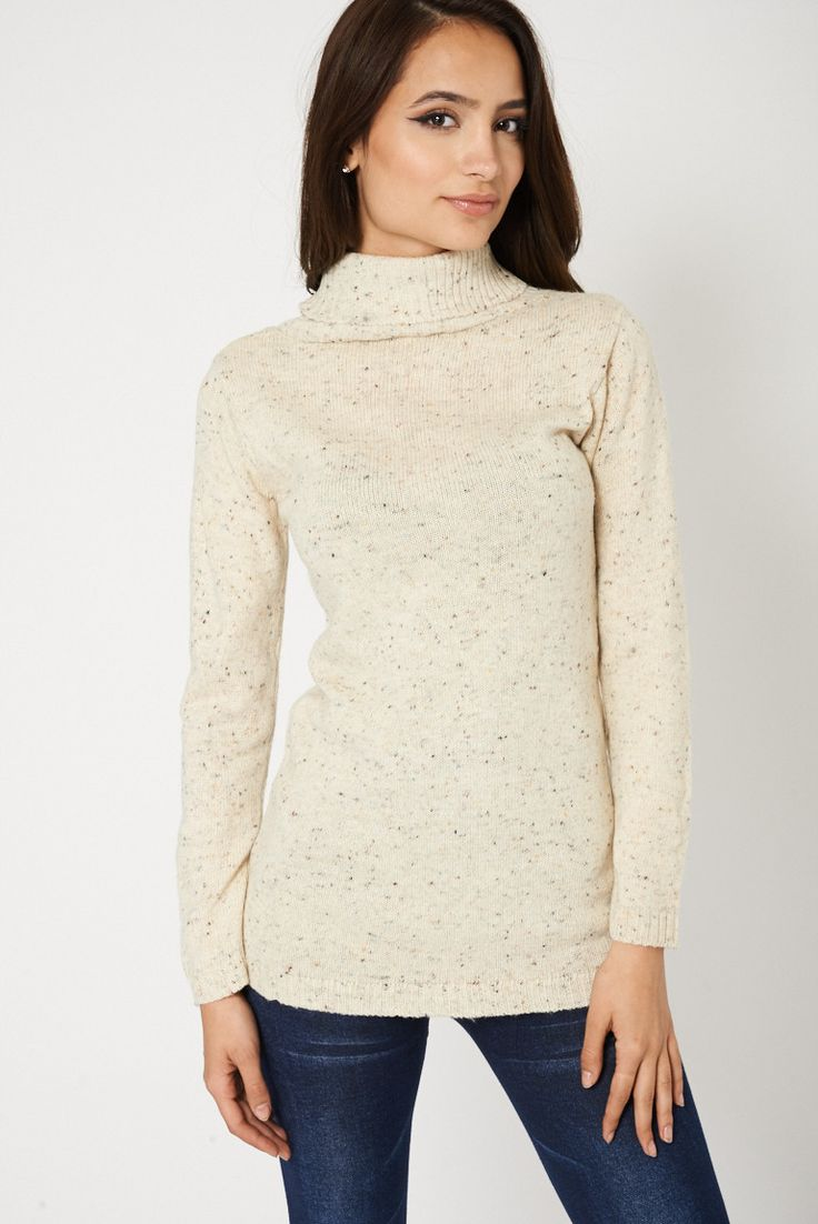 Now available: Multi Coloured Lo... Order here: http://www.fbargainsgalore.co.uk/products/multi-coloured-long-sleeve-knitted-roll-neck-womens-jumper?utm_campaign=social_autopilot&utm_source=pin&utm_medium=pin
