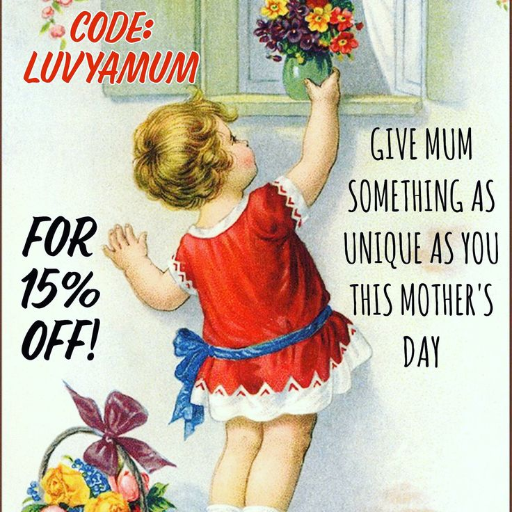 Let's share the love - code: LUVYAMUM will snag you 15% off storewide in my Etsy shop until May 14!  Spoil your Mum (or yourself!) with this little pressie from me! 💕💕💕