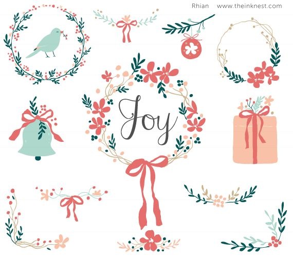 CLIP ART - Joy - for commercial and personal use