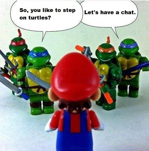 TMNT v. Mario | Teenage Mutant Ninja Turtles Nintendo ...