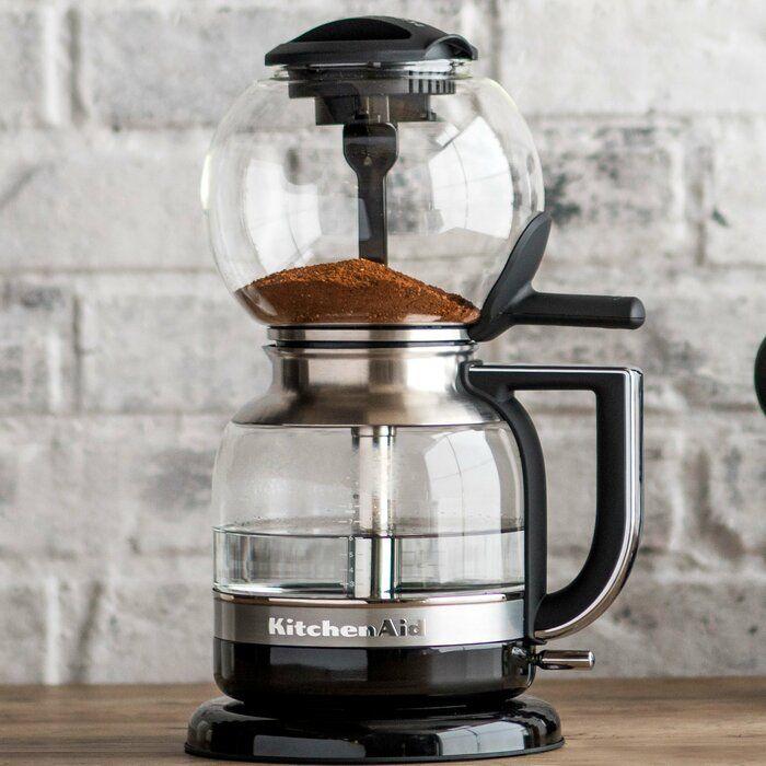 Kitchenaid 8 Cup Siphon Coffee Maker Vacuum Coffee Maker