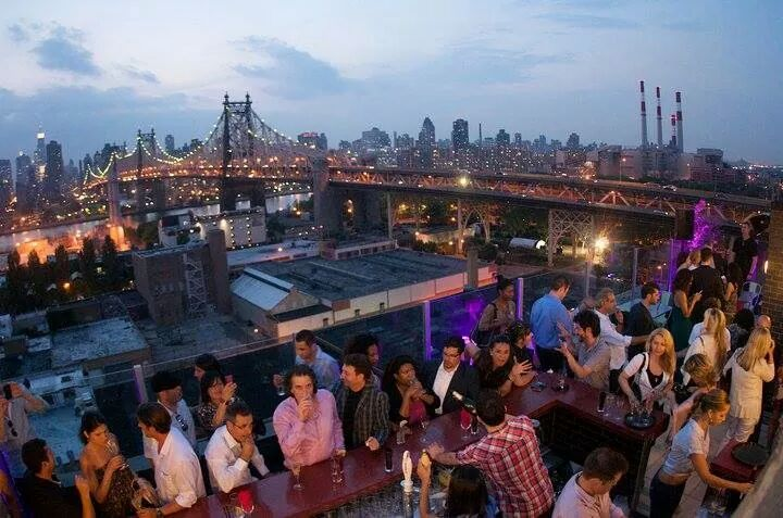 NYC Roof top party