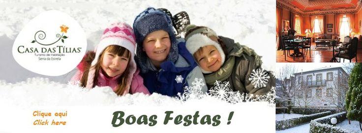 Boas Festas ! Happy Christmas ! #serradaestrela #seia #portugal #turismodehabitação