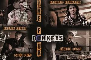 Sabato 28 Ottobre 2017: Concerto dei The Four Donkey (musica country)