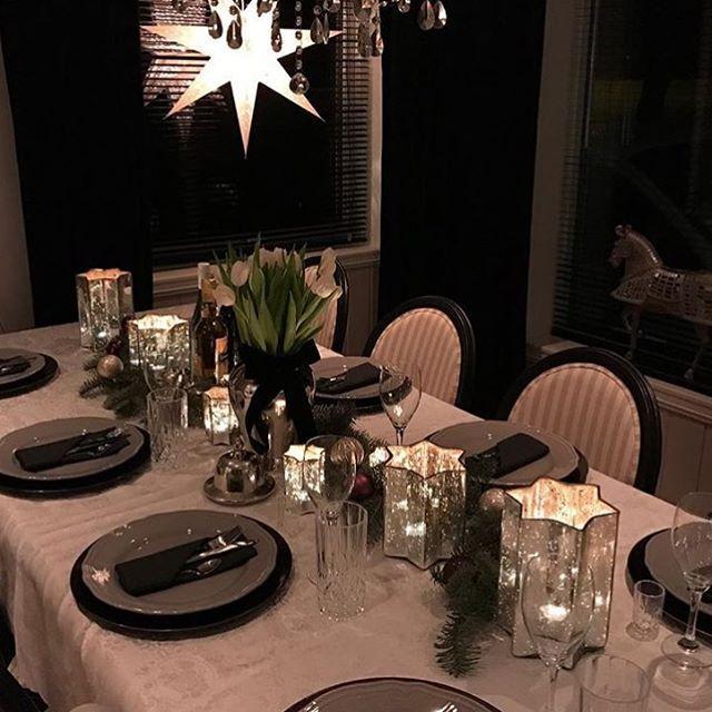 В канун #старыйновыйгод есть еще один шанс празднично накрыть стол  еловыми веточками, свечами и новогодними огнями 🎄а вы будете отмечать старый новый год?) #твойдом #телеканалтвойдом #ужин #праздник #вечер #bonappetit #декор #праздничныйстол #сервировкастола