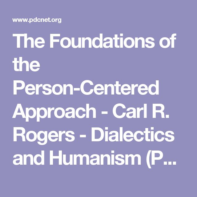 carl rogers person centred approach advantages disadvantages This free psychology essay on essay: the pros and cons of person-centred   carl rogers is known for inventing his own way of offering therapy which is   rogers centre based theropy is seen as a positve advantage in the therapy world.