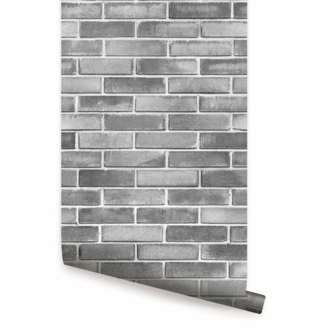 Cement Concrete Wallpaper Peel And Stick In 2020 Brick Wallpaper Peel And Stick Concrete Wallpaper Brick Wallpaper