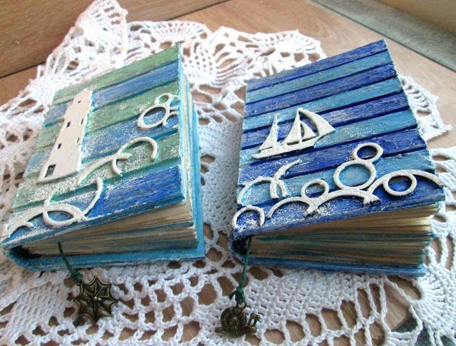 Подарки в радость!: Морские блокноты