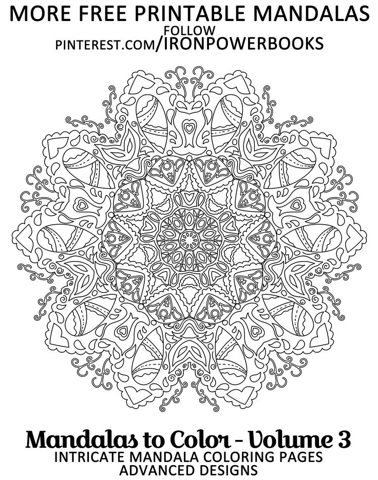 geometric coloring pages advanced nature - photo#29