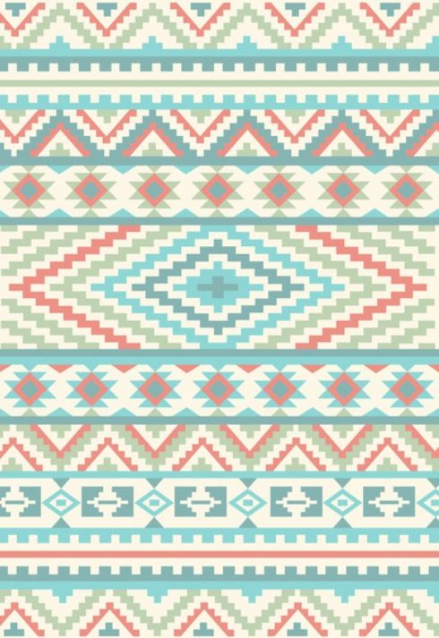 Pattern/Design/Art/Illustration/inspiration Hipster Pastel ...