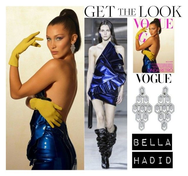 Bella Hadid Vogue Brasil September Issue 2017 Cover #1