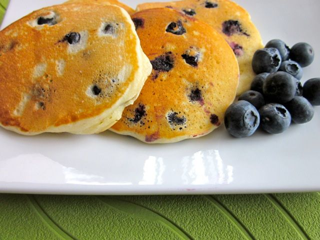 Blueberry Pikelets