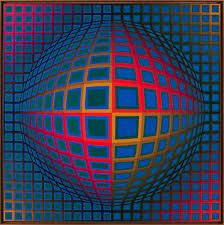 Victor Vasarely - 'Vega-Nor' (1969) Abstract