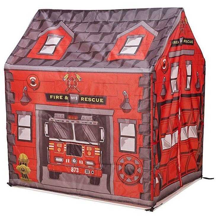 Tenda Gioco per Bambini Per giocare ai vigili del fuoco   Bambine