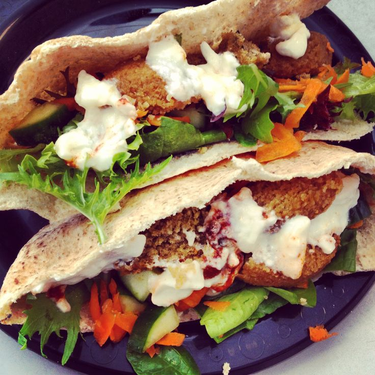 OMG this was so good! @12 Week Body Transformation Indian Lentil Burger Pocket #happytummy now