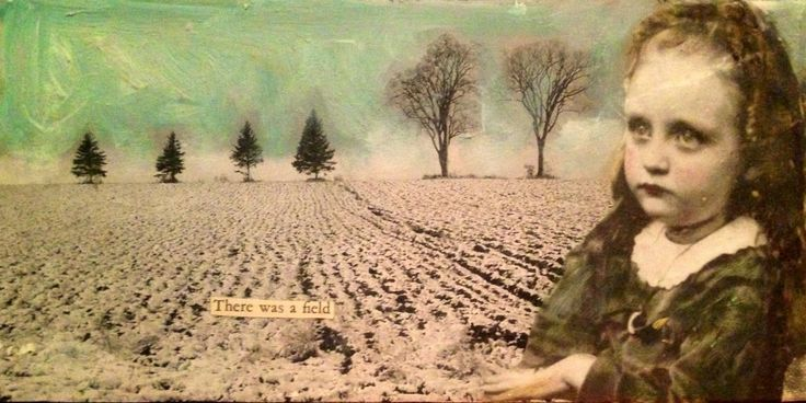Collage di foto moderne o antiche su tela, con aggiunta di colore acrilico e particolari a collage