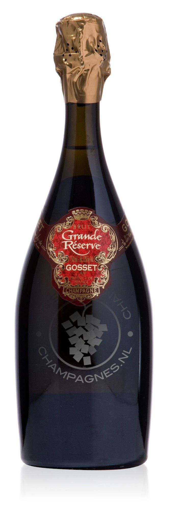 For the happy couple to enjoy in private! This is our gift to you--Gosset Grande Reserve Champagne Bestellen PD
