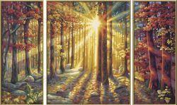 Раскраска по номерам Schipper «Осенний лес» (9260688)