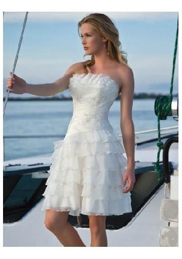 42 best Mini Skirt Style Wedding Dresses images on Pinterest ...
