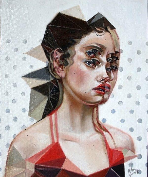 Alex Garant #art #painting #portrait