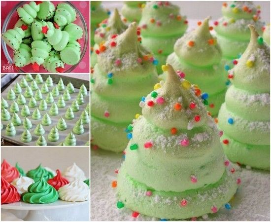 Christmas Tree Meringues Recipe Is A Cracker   The WHOot
