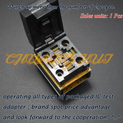 QFP32 to DIP32 Programmer Adapter SA663 Programmer Adapter TQFP32 LQFP32 socket Pitch=0.8mm Size=7mm*7mm/9mm*9mm #Affiliate