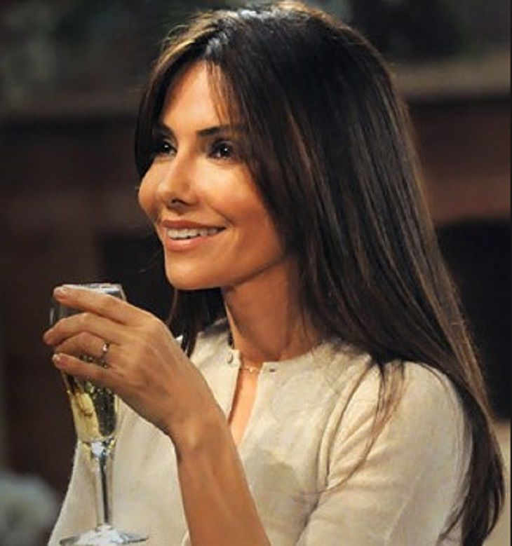 """For months now """"General Hospital""""alum Vanessa Marcil has been teasing some new projects that she has been working on. Today, we can officially report that she will star in the 'The Convenient Groom' a movie on the Hallmark Channel. The movie is set to premiere on June 18 at 9p.m EST/PST. This"""