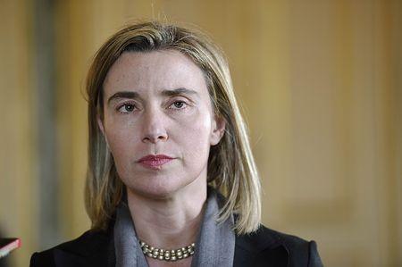 欧州連合(EU)のモゲリーニ外交安全保障上級代表(外相)=7日、パリ(AFP=時事) ▼15Mar2015時事通信|EU外相、23日にキューバ初訪問=米国にらみ関係改善探る http://www.jiji.com/jc/zc?k=201503/2015031500022 #Federica_Mogherini