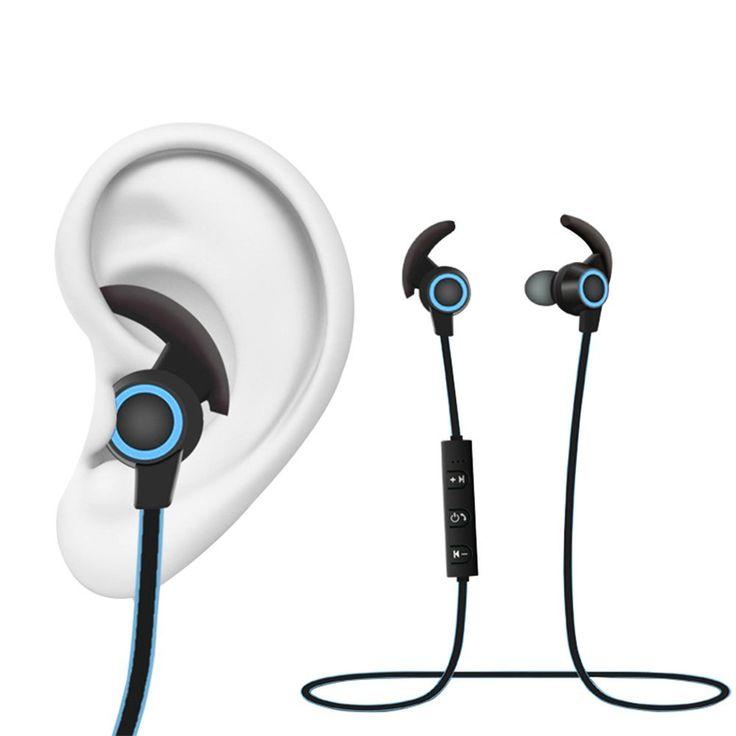 Blue tooth running earphones - bluetooth earphones office