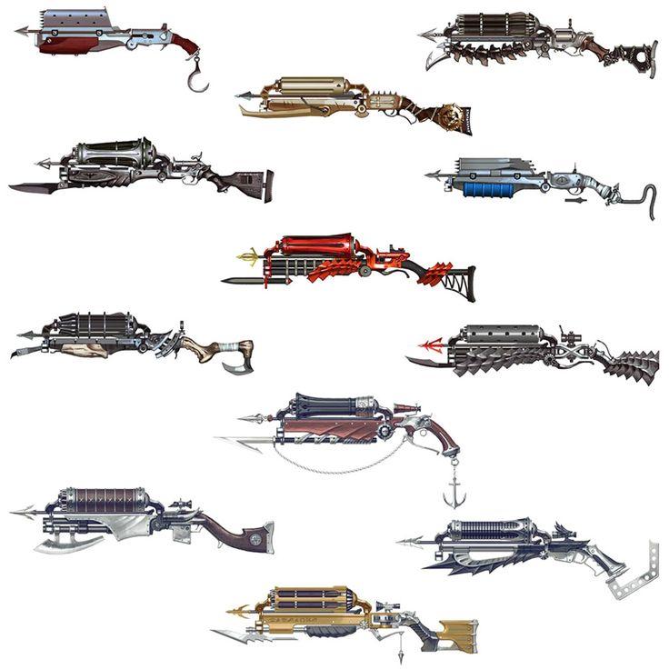 Crossguns from Vindictus