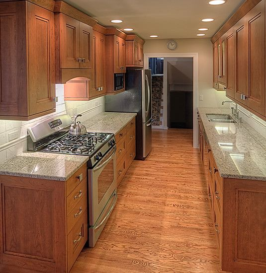 17 best images about small galley kitchen ideas on for Very small galley kitchen ideas