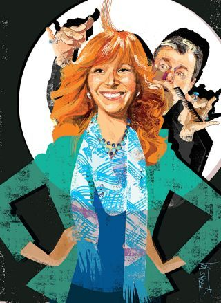 """Return of the Repressed """"The Comeback"""" comes back. By Emily Nussbaum """"The Comeback"""" is less a hall of mirrors than a kaleidoscope, reflecting a TV set. Go to:www.newyorker.com"""