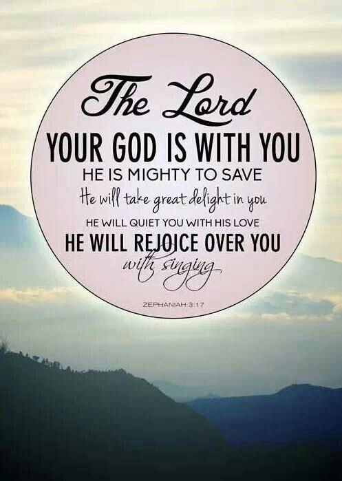 Zephaniah 3:17 - The Lord your God in your midst, The ...