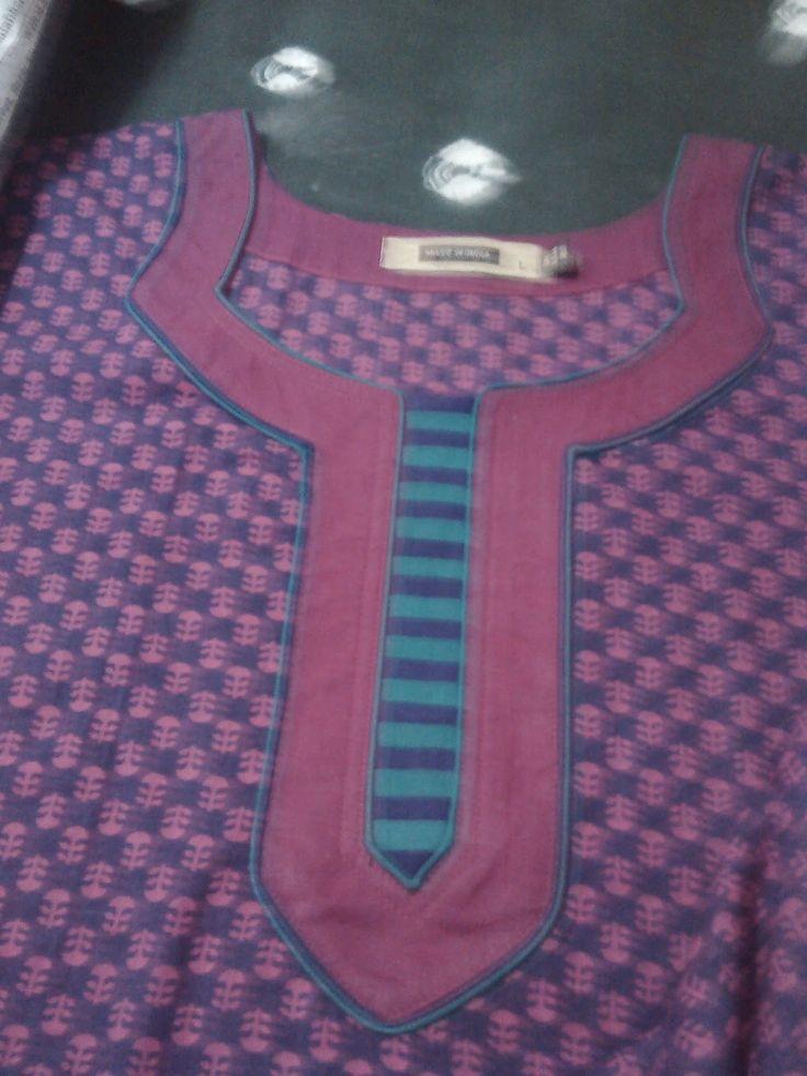 Neckline designs for kurti/top/kameez - Sewing Tutorials - My Thread Creations