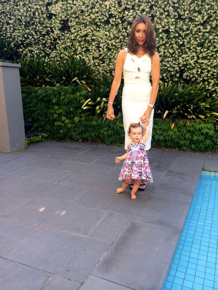 Rozalia Russian's daughter Willow wearing Bardot Junior #bardotjunior #rozaliarussian #blogger