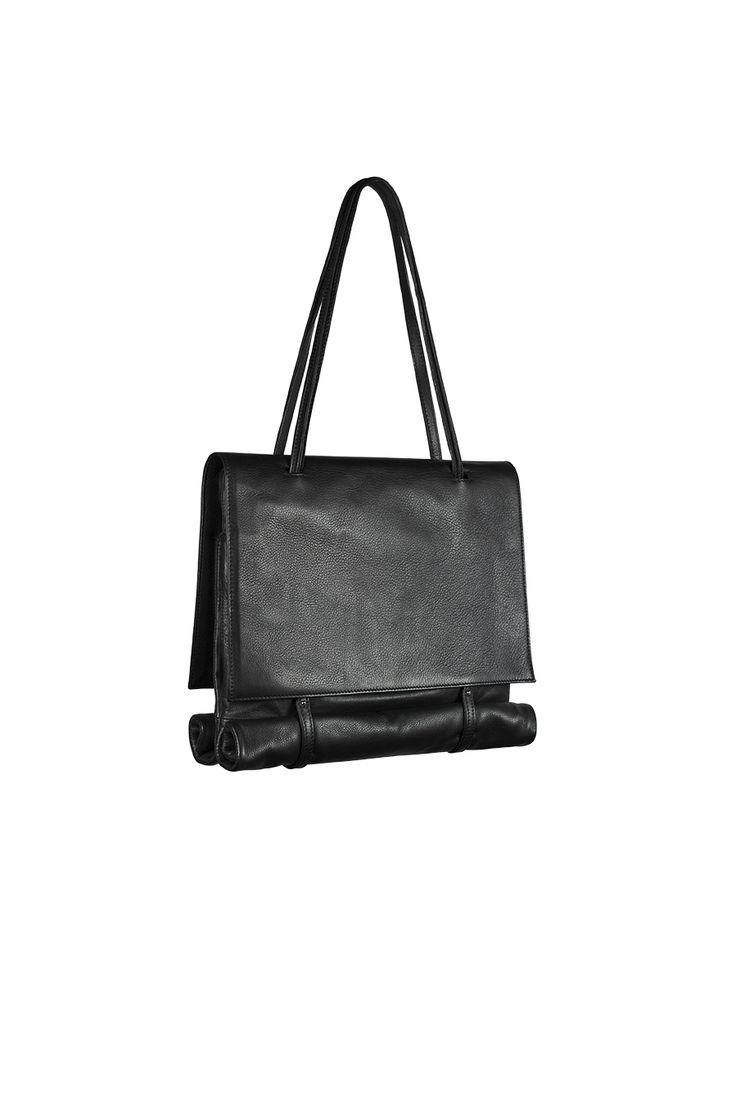 SaraValente FW14/15 REA COLLECTION_R/B #shoulderbag #transformations #leather #minimalism