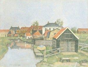 jopie-huisman-Vissershuisjes