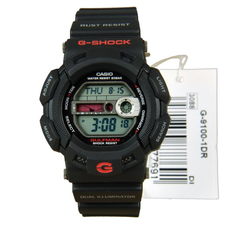 Casio G-Shock GULFMAN Watch G-9100-1DR G9100