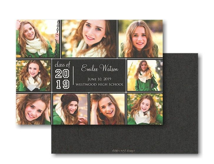 Multi-Photo Simplicity Graduation Announcement